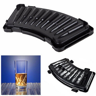 Bullet Shape Plastic Ice Cube Tray Form pudding Jelly Candy Freeze Maker