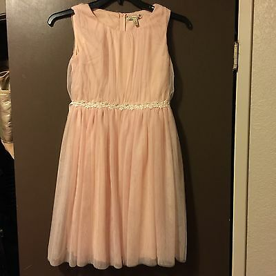 Girls Tulle Dress Size 16 Party Formal Pageant Flower Girl Bridesmaid