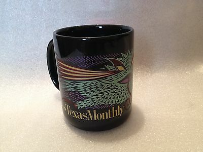 TEXAS MONTHLY New 1999 Horny Toad Collectible Coffee Mug Cup