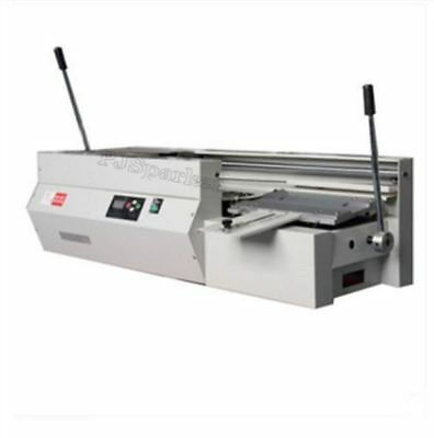 DC-40TSEMI-AUTOMATIC Swaktop Perfect Binding Machine,Glue Book Binding Machin qk