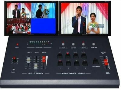 4 Way Live Production Switcher SH868P Multi-Format Live Video Switcher ce
