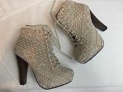 Qupid G By Guess Women's Size 6 Shoe Lot Boots Heels EUC