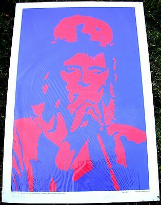 DAVID BOWIE Ziggy PETER MARSH Poster Limited Numbered Autographed by P. Marsh