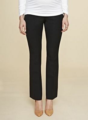 Isabella Oliver Tailored Maternity Pants Black size 10 RRP $155