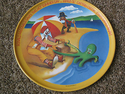 "Vintage (1977) McDonald's Melamine 10"" Plate - Lexington - Summer"