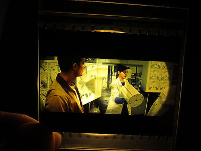 Interstellar 70mm IMAX Film Cell (Cel) - Coop and Brand Together in the Lab