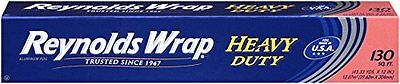 Reynolds Wrap Heavy Duty Aluminum Foil 130 Square Foot Roll