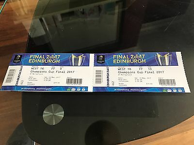 European Rugby Champions Cup Final Tickets x 2