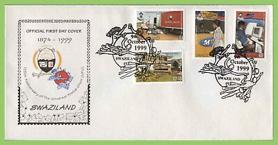 Swaziland 1999 UPU set on First Day Cover