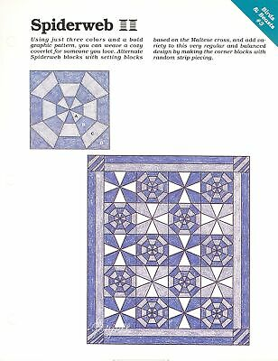 Spinning Spools quilt sewing pattern /& templates Sunbeam ~ Quilt /& Block
