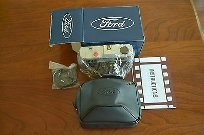 Ford Advertising 35mm Film Camera, Case & Strap, New in Box/NIB