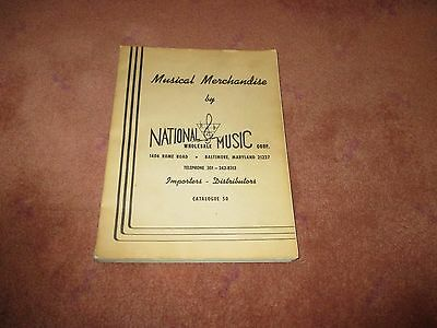 1969 Musical Merchandise National Wholesale Music Catalog