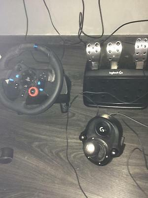 Volant Logitech G29 + Shifter PS4/PS3/PC