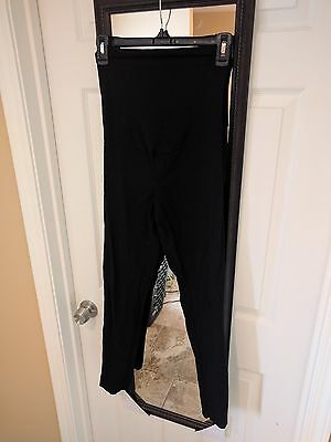 Motherhood Maternity Skinny Black Dress Ankle Pants Size S