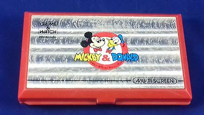 Mickey and Donald Handheld game and watch nintendo double screen Japan