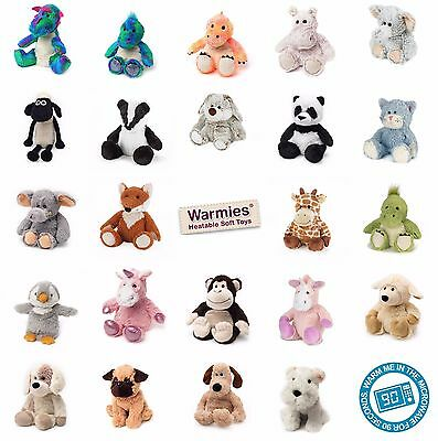 Cozy Plush Microwavable Childrens Bedtime Animal Cuddly Soft Toy Scented Warmies