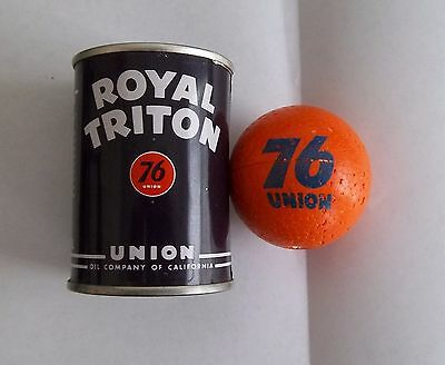 1960s UNION 76 Service Station Royal Triton Metal Bank & Early Antenna Ball