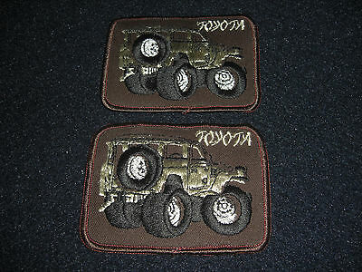 Toyota  Land Cruiser Patch Vintage 1980's lot of 2