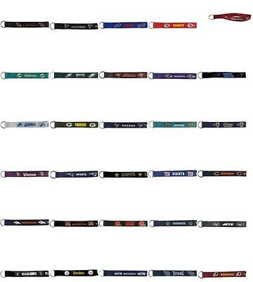 NFL Lanyard Wrist Strap Keychain PICK YOUR TEAM Officially Licensed