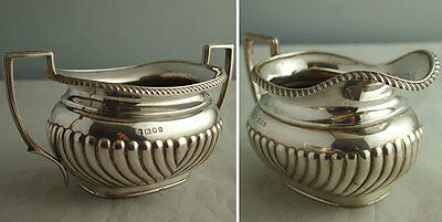 Fine George V Solid Silver 3Pc Tea Set - 738g - Robert Pringle 1920/23