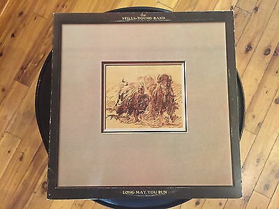 "The Stills Young Band- Long May You Run - 12"" Vinyl LP record - Neil Young"