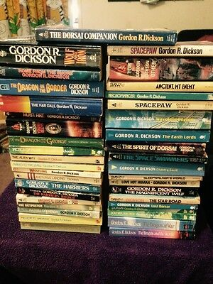 Gordon R. Dickson x 37 Books. Titles In Listing