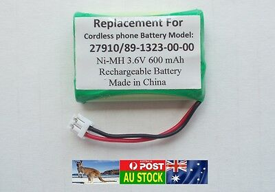 Generic Replacement 3.6V Battery for TELSTRA V580A V580Q 27910 CTB69 BT-C250 AU