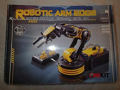 Robotic Arm Mechanical Robot Claw Science Project Kit Kids Toy Robot Gripper