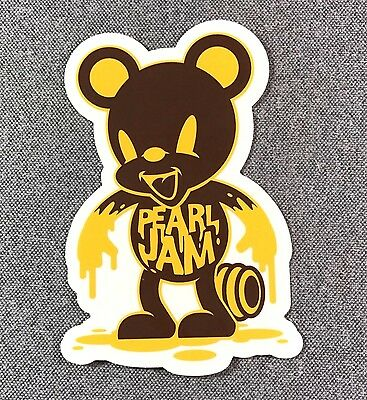 Pearl Jam Honey Bear Sticker 4.5in Music Rock Band Seattle si