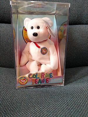b421aeed658 TY Beanie Baby - COLOR ME BEANIE BEAR (Complete Kit) New in Box Sealed