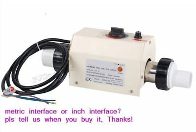 220V Heating Thermostat Equipment 2Kw Electric Swimming Pool / Spa Heater C