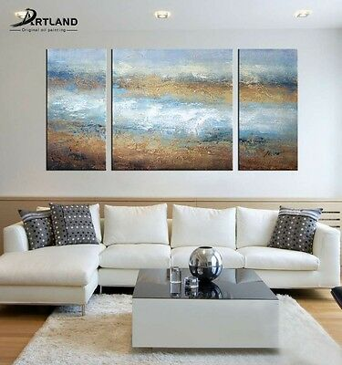Large Framed Abstract Oil Painting Hand-painted Canvas Art 'Adverse Current'