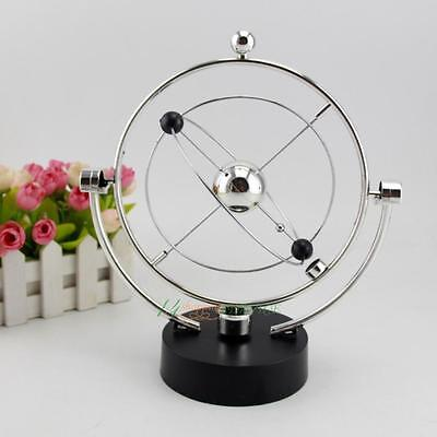 Kinetic Orbital Revolving Gadget Perpetual Motion Desk Art Toy Office Decor #VIC