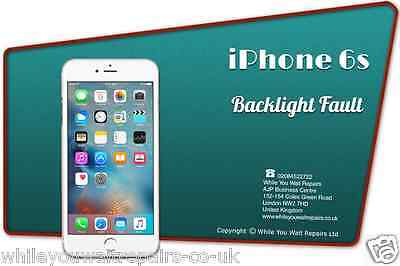 FAST Repair Replacement Fix Service for iPhone 6s backlight backlights unit