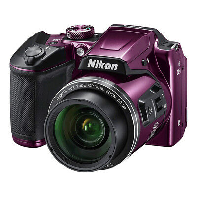NEW Nikon Coolpix B500 16MP SLR-like Camera PURPLE