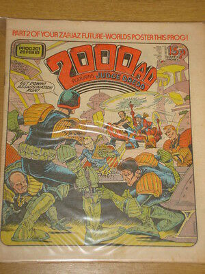 2000AD #156 BRITISH WEEKLY COMIC JUDGE DREDD MAR 1980 *