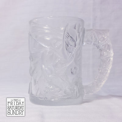 Batman Forever McDonalds Mug 1995 Cup Drinking Glass DC Comics