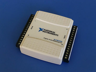National Instruments USB-6009 Data Acquisition Card Multifunction I/O DAQ