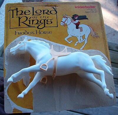 Vintage Frodo's Horse Lord of the Rings Figure Hobbit 1979 Tolkien Fantasy Old