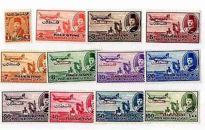 Palestine Egyptian 1948 Occupation Airmail Set To 200 Mls Mint MH X6235
