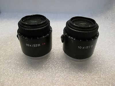 Zeiss eyepieces 10x22b for Zeiss Surgical Microscope