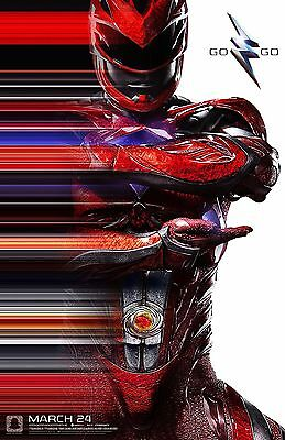 """Power Rangers Red 17/""""x26/"""" poster print"""