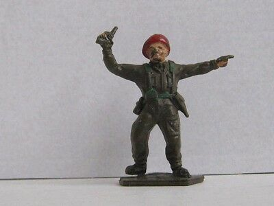 1 x LONE STAR BRITISH PARATROOPER OFFICER 1960's TOY SOLDIER. HARVEY SERIES