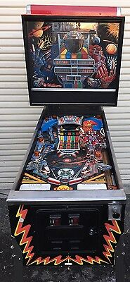 Pin Bot Pinball Machine by Williams coin Op Arcade