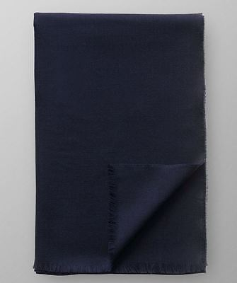 ETON Men's Navy Blue Scarf 100% Merino Wool - New With Tag - Made in Scotland