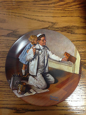 Huge Collection of Norman Rockwell plates! Amazing price