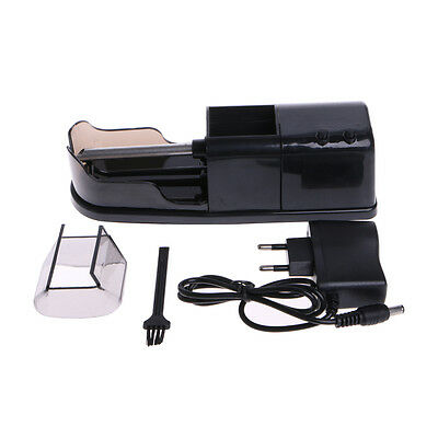 Electric Cigarette Rolling Machine Tobacco Roller Automatic Injector Maker Black