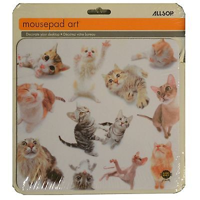Computer Mouse pad  Multi - Cat series Kittens Mousepad 8x9