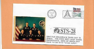 Shuttle Columbia Sts-28 Third Day In Space Aug 10,1989 Ksc