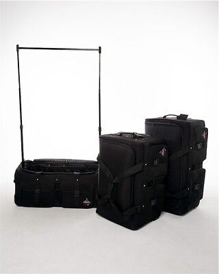 Rac N Roll - Black Large Dance Suitcase with Polls & Hooks for upto 15 costumes